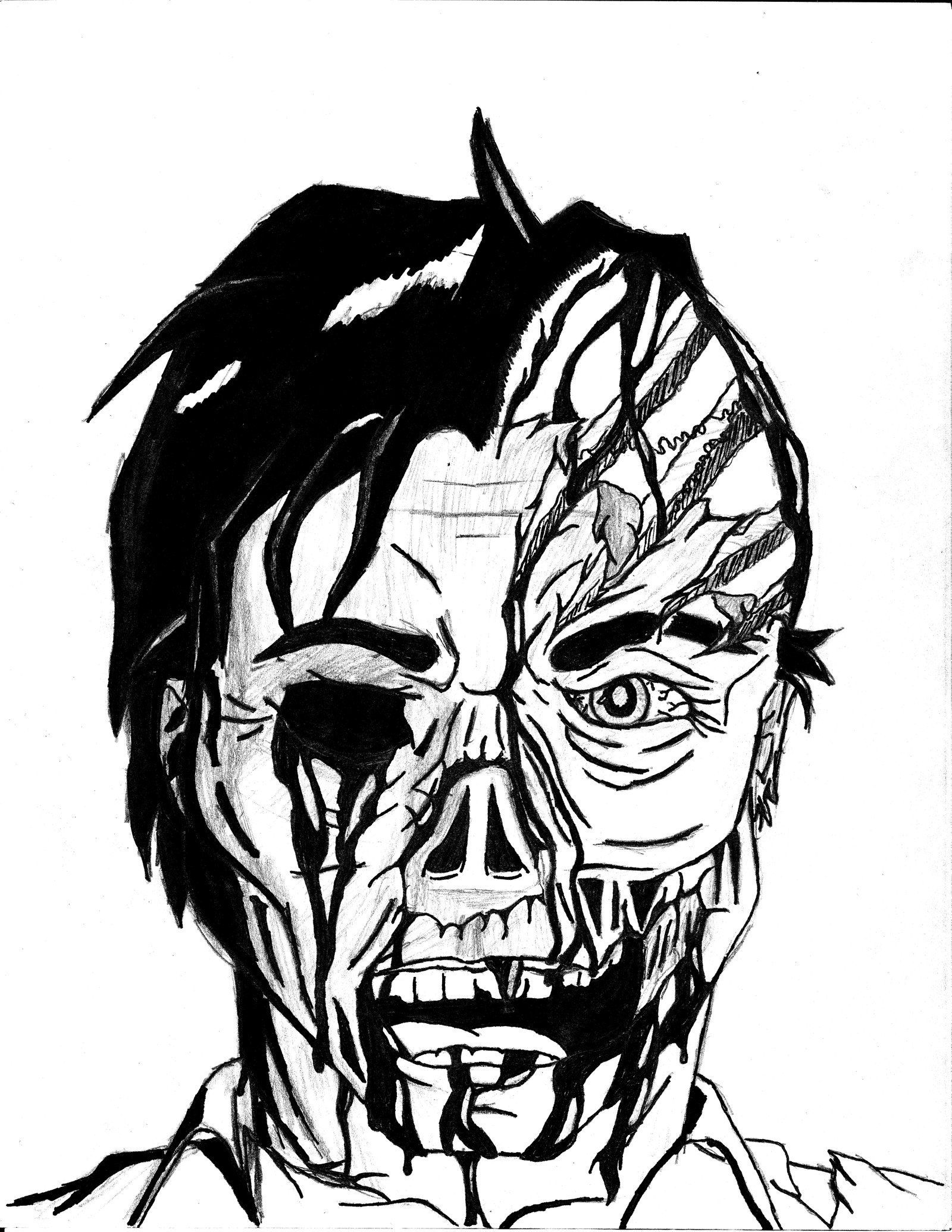Halloween Coloring Pages To Print Scary