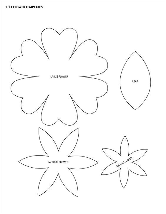 Felt flower templates printable 4k wallpapers 12 printable flower petal templates free free printable flower templates coloring home pronofoot35fo Gallery
