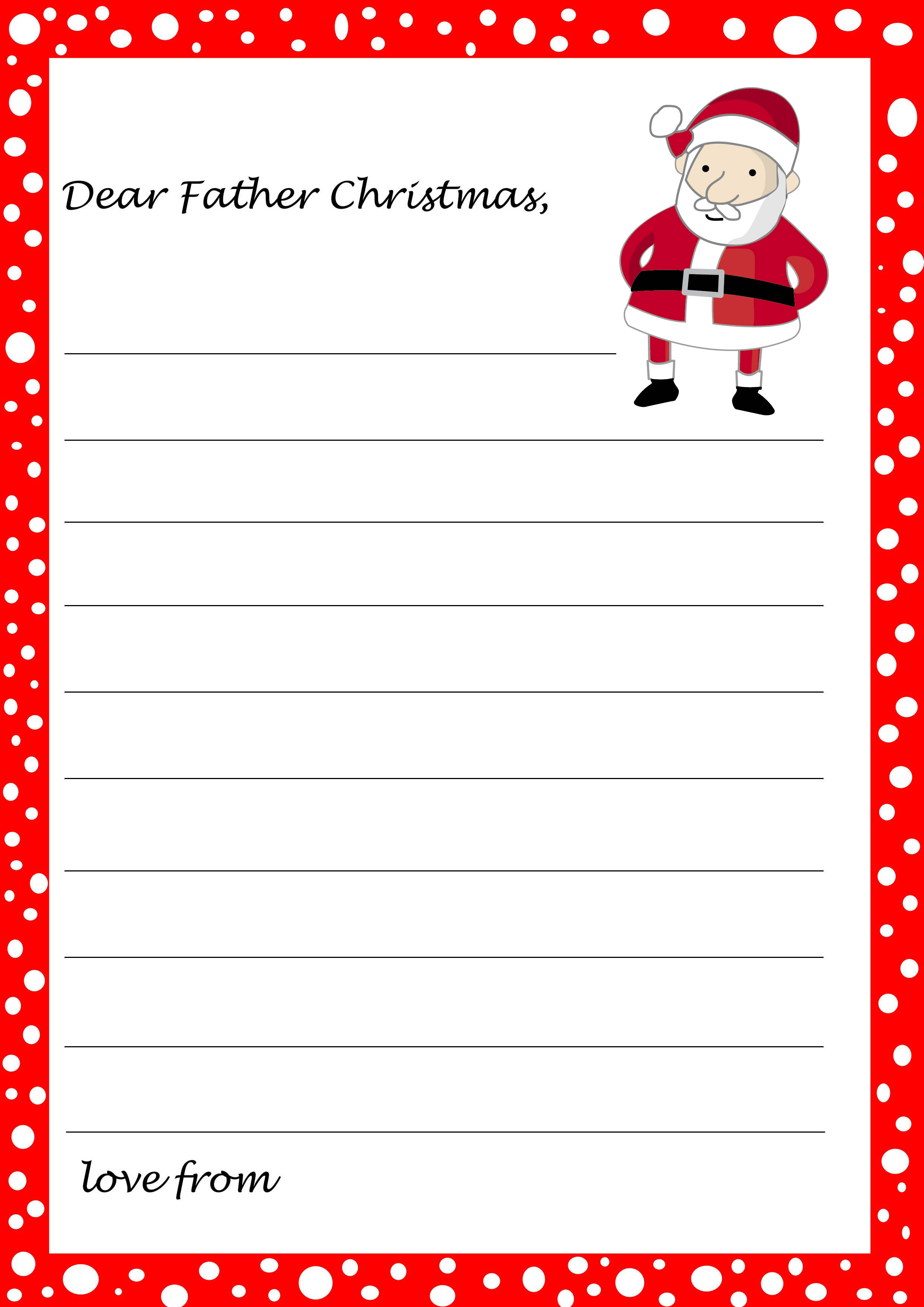 Kids Christmas List Template Coloring Home – Printable Christmas List Template