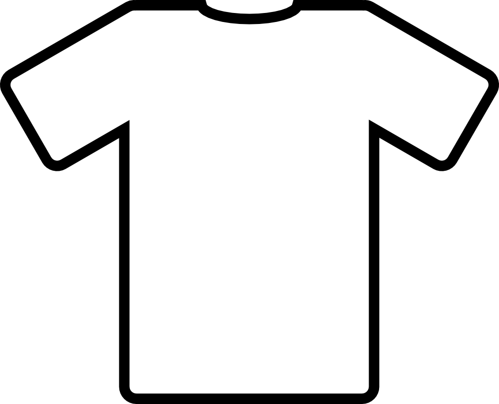 Clip Art T-shirt Coloring Pages t shirt coloring page az pages printable aiwosen com