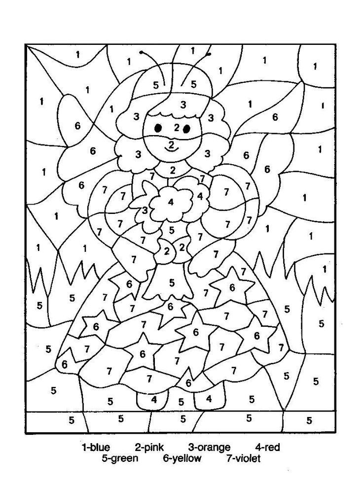 coloring pages color coded to print coloring home