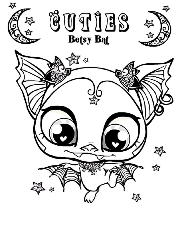 My littlest pet shop coloring pages coloring home for Shop coloring page