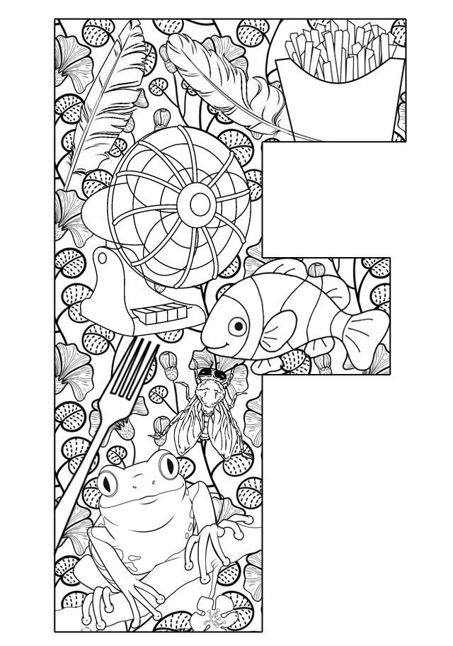Free Printable Preschool Coloring Pages Things That Are ...