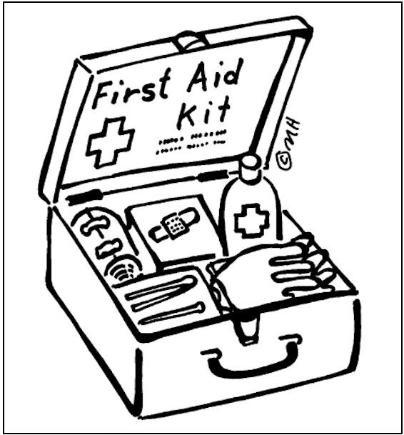 first aid coloring page for kids - Aid Coloring Pages Kids