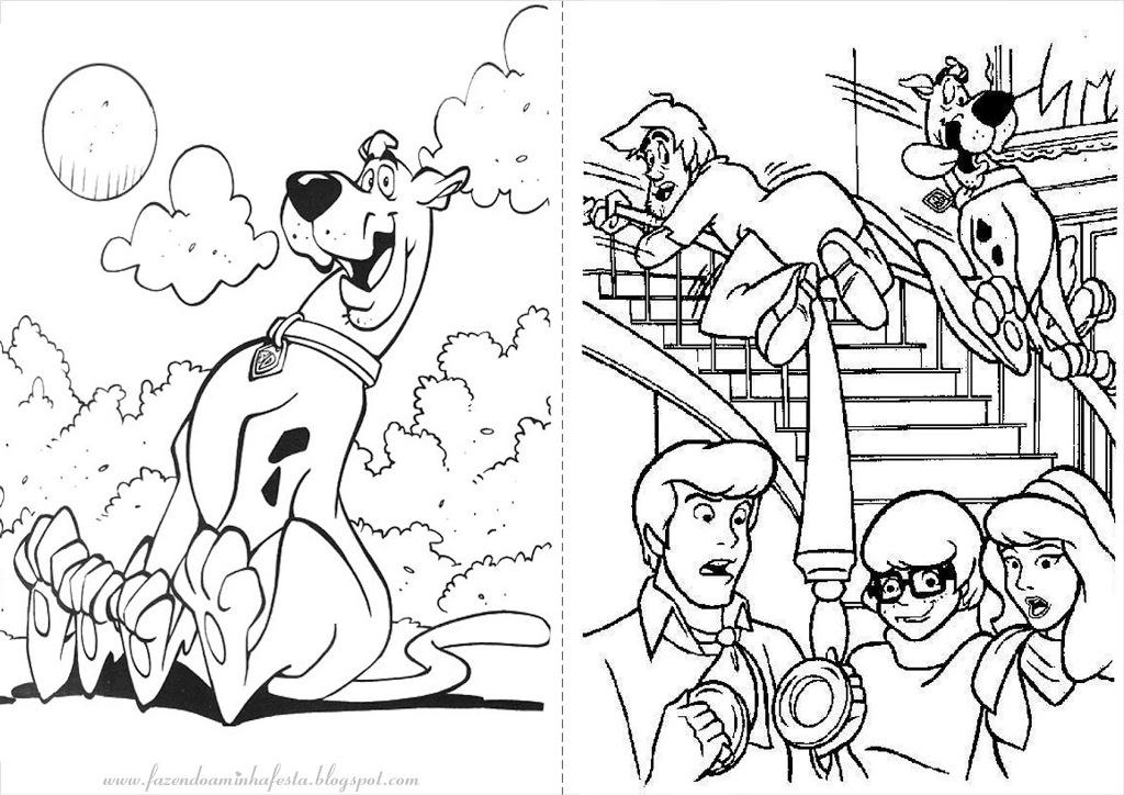 Free Scooby Doo Coloring Pages for Kids : New Coloring Pages ...