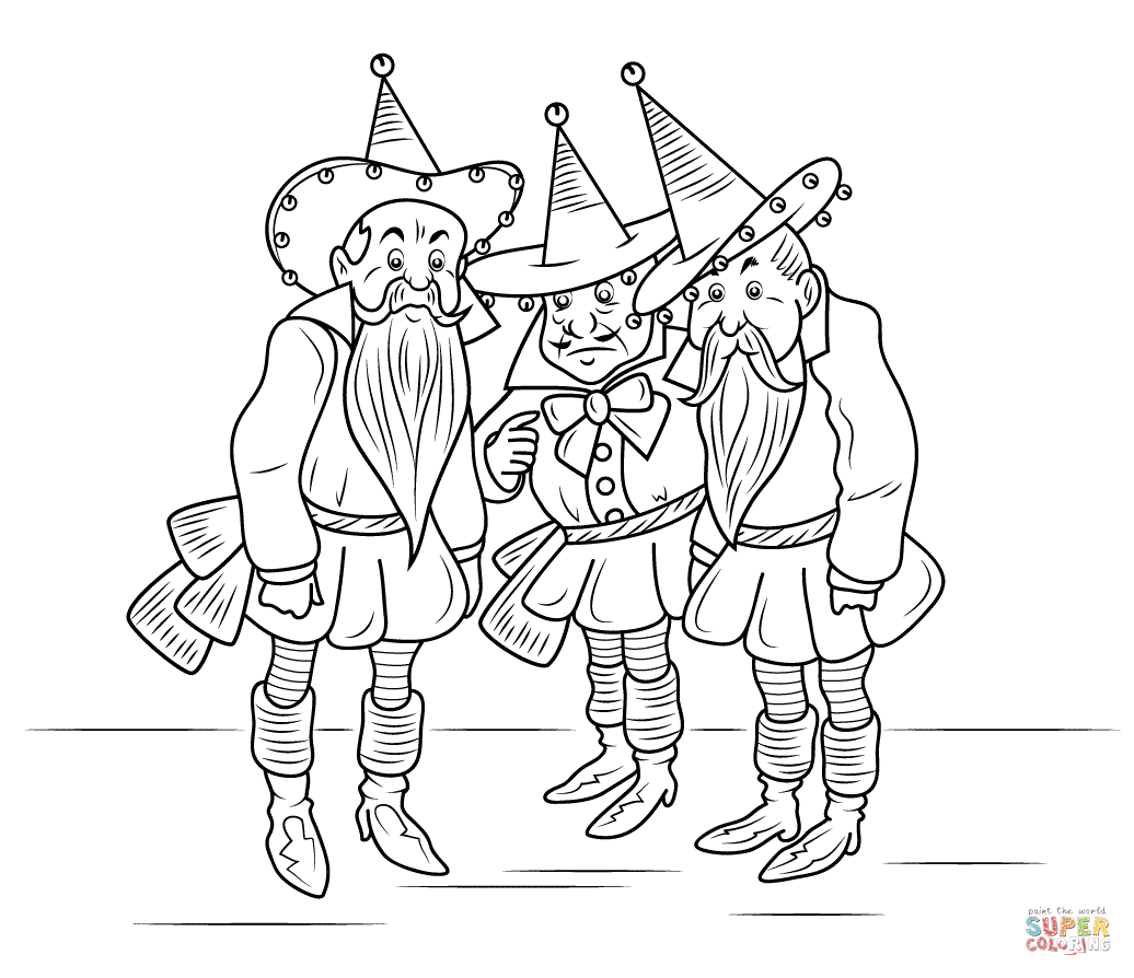 wizard of oz coloring pages printable Coloring4free ... | 894x1036