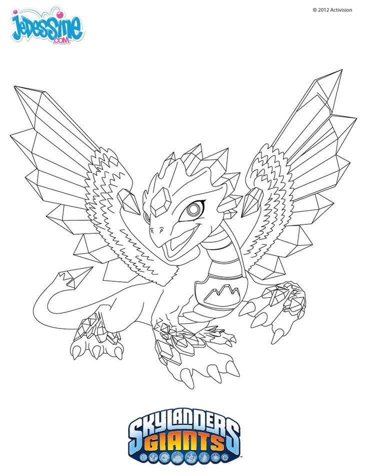 Skylanders Trap Team Coloring Pages - Coloring Home