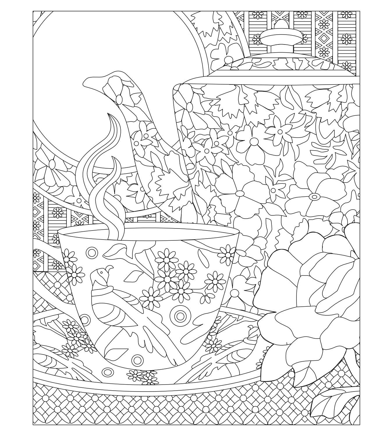 princess tea party coloring pages  coloring home