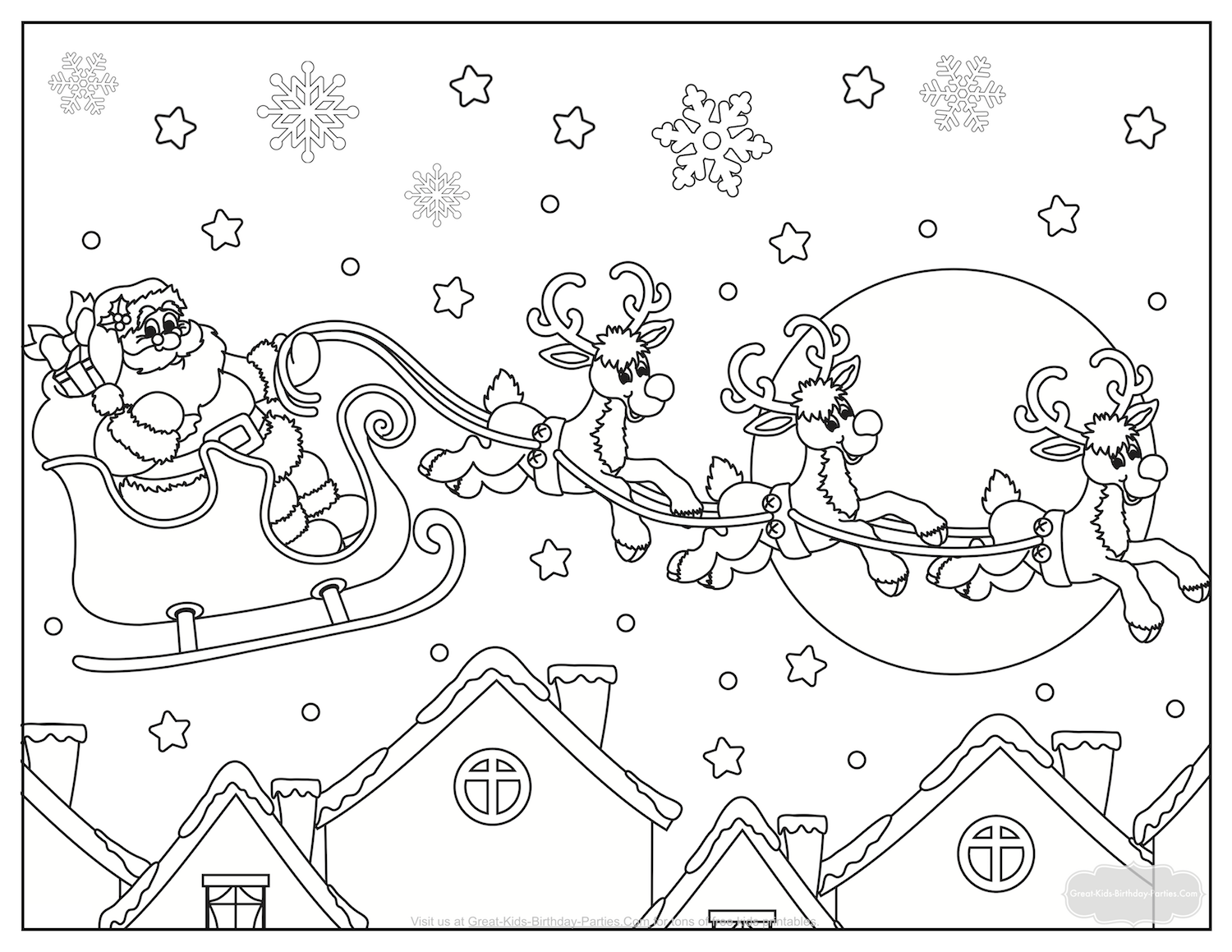 Coloring Pages : Free Santa Sleigh Pattern Printable Sled Coloring Page  Reindeer Wood Wooden One Outstanding Santa Sleigh Coloring Page ~ Ny19 Votes