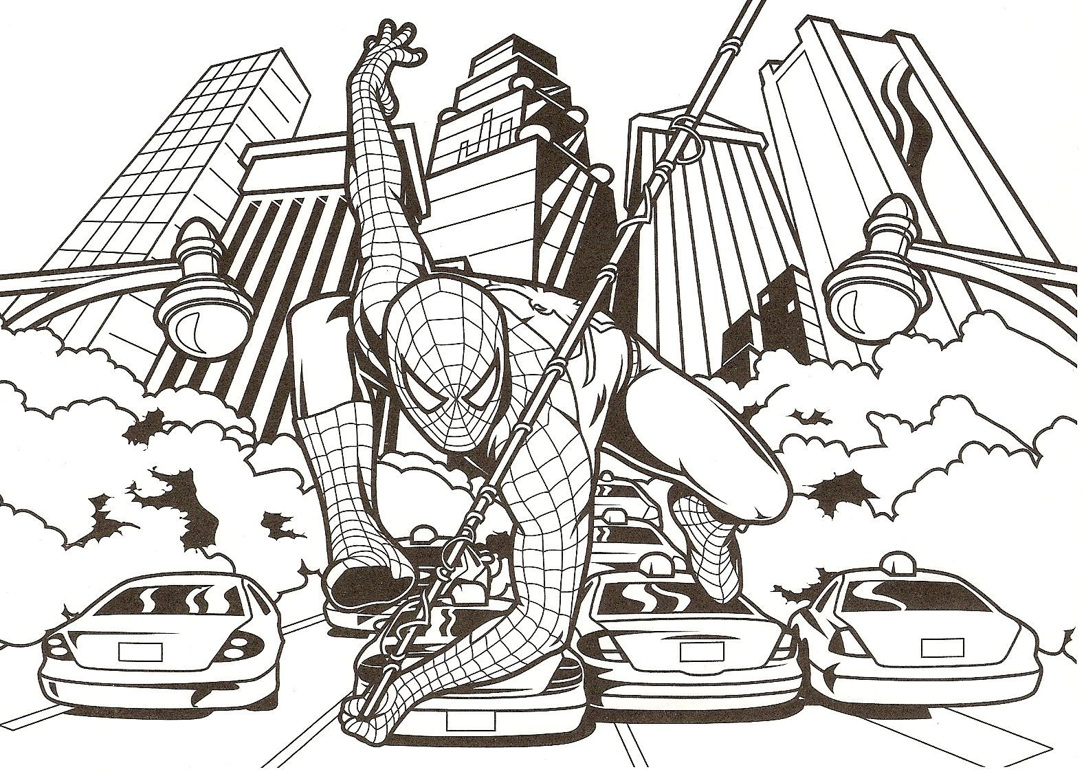 Green Goblin Coloring Pages Free - Coloring Home