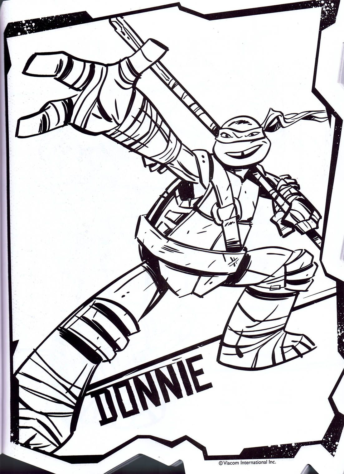 Donatello Coloring Pages Coloring Home Mutant Turtles Donatello Coloring Pages
