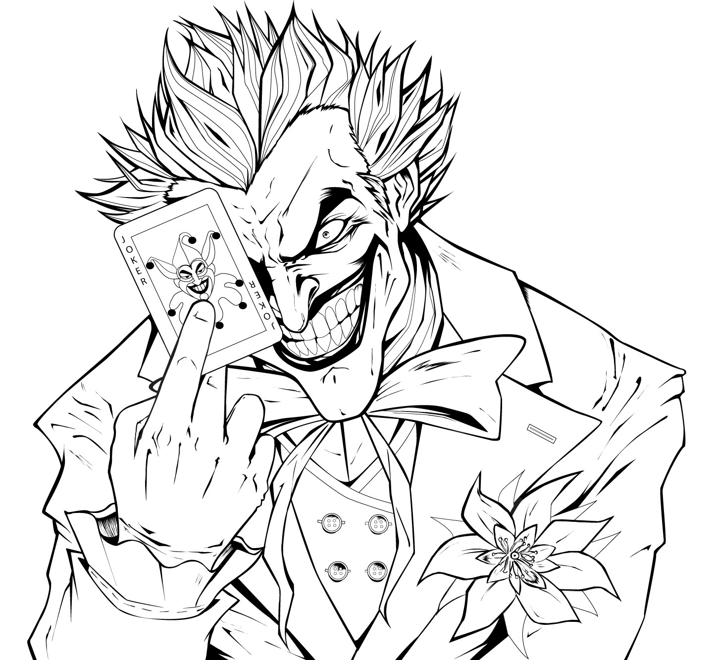 Remarkable Batman And Joker Coloring Pages New