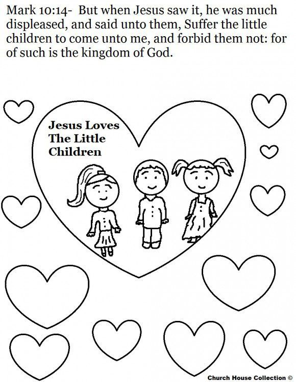 Coloring Pages Love Your Enemies