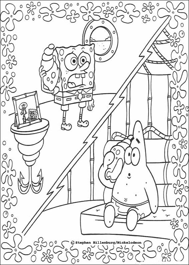 Patrick Starfish Coloring Pages - Coloring Home
