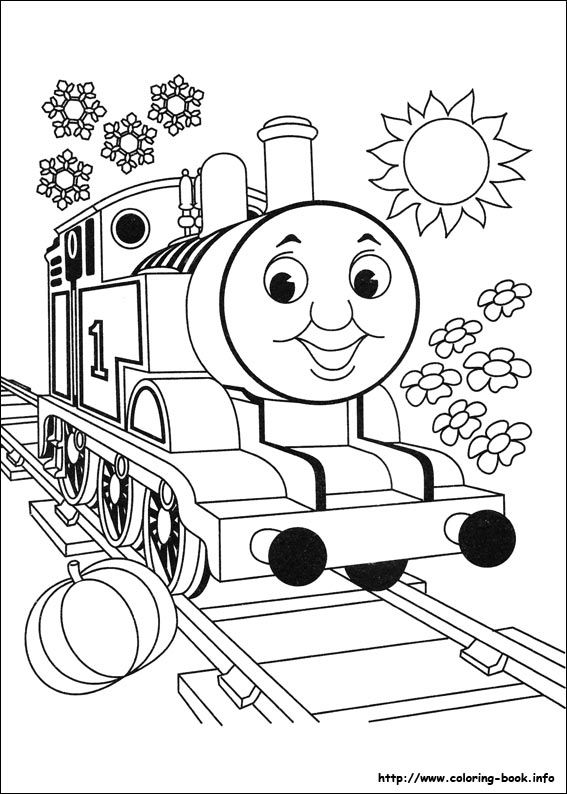 Thomas And Friends Coloring Pages On Coloring-Book.info - Coloring Home