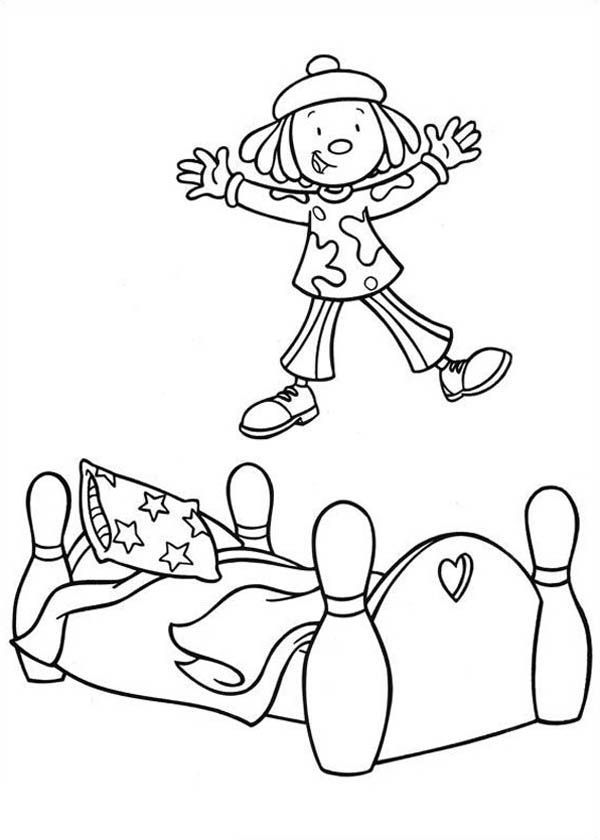 jojos circus coloring pages - photo#33