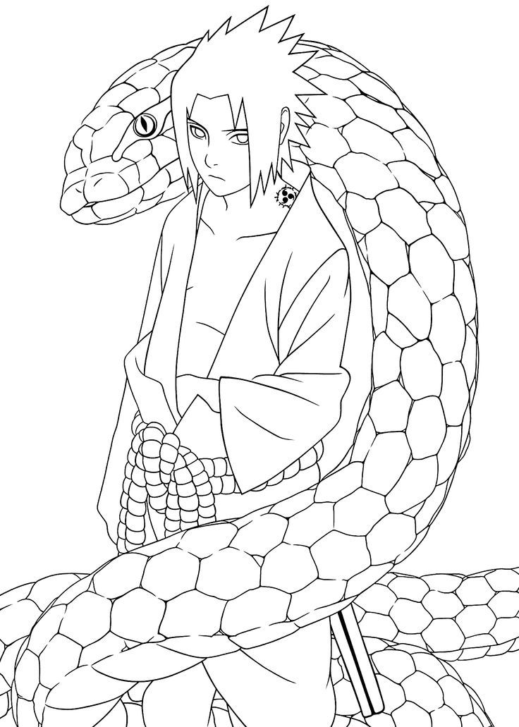 Naruto Coloring Pages Pdf : Naruto printable coloring pages for kids and adults