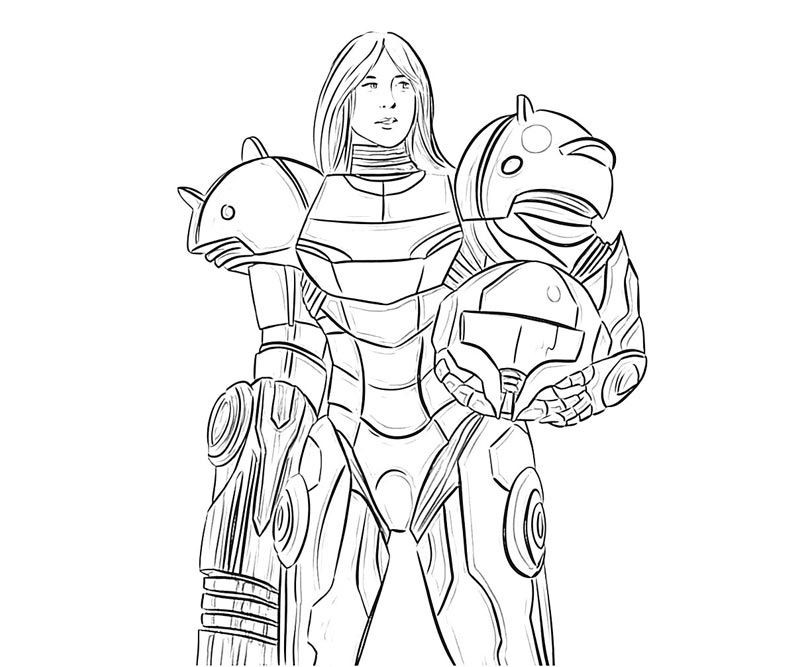 10 pics of samus coloring pages zero suit samus coloring pages