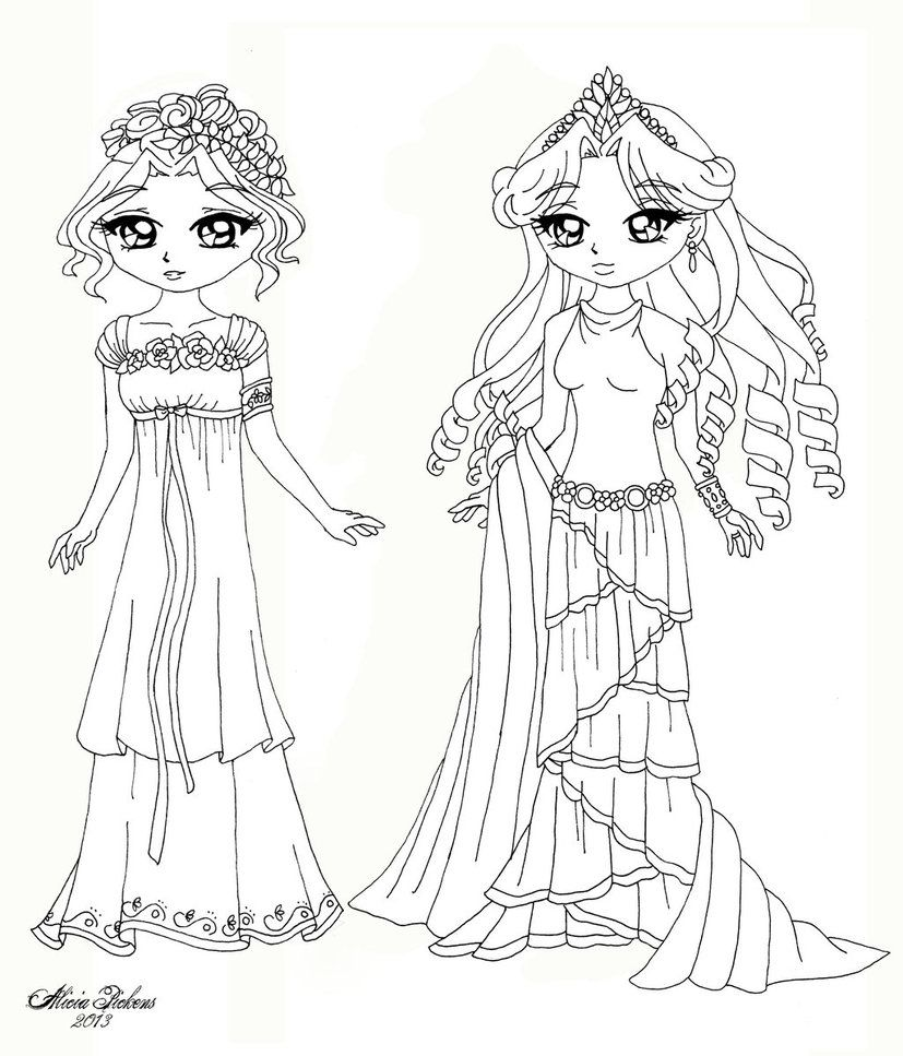 persephone coloring pages - photo #19