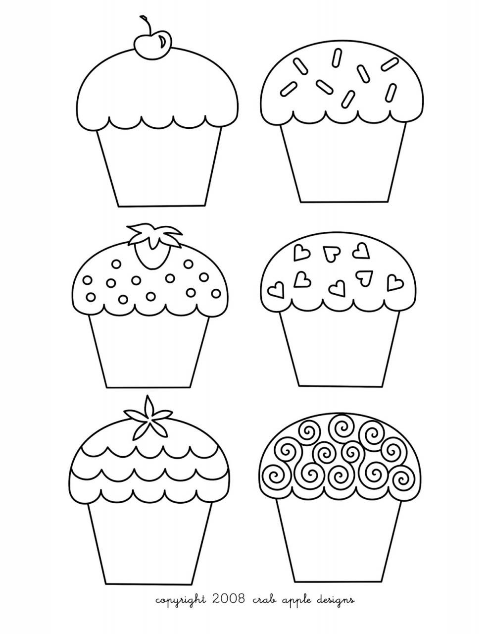 hello kitty cupcake coloring pages az coloring pages