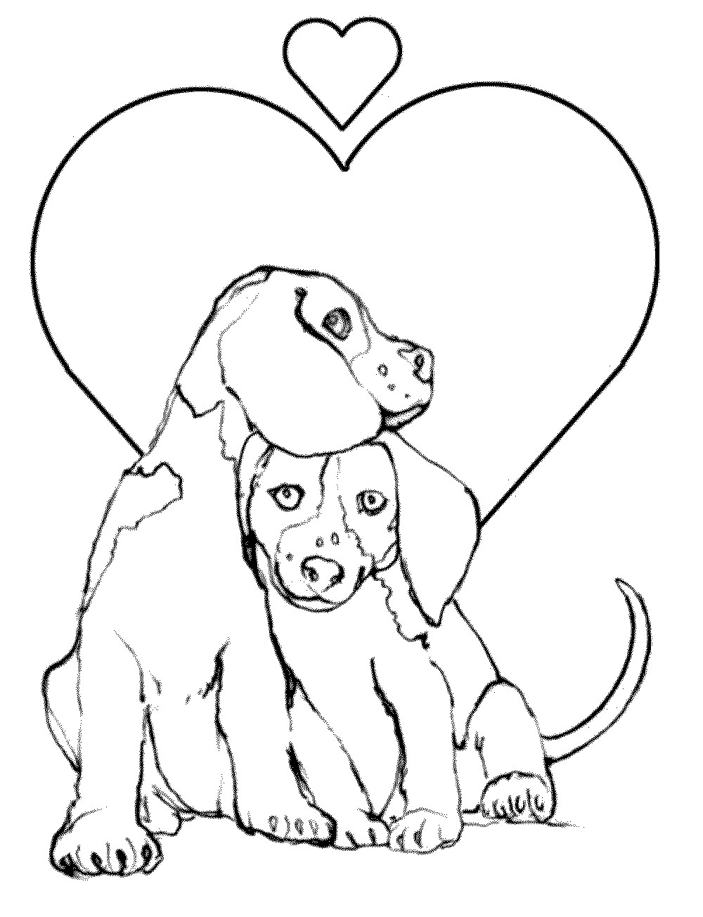 And Puppy Coloring Pages Biscuit The Home