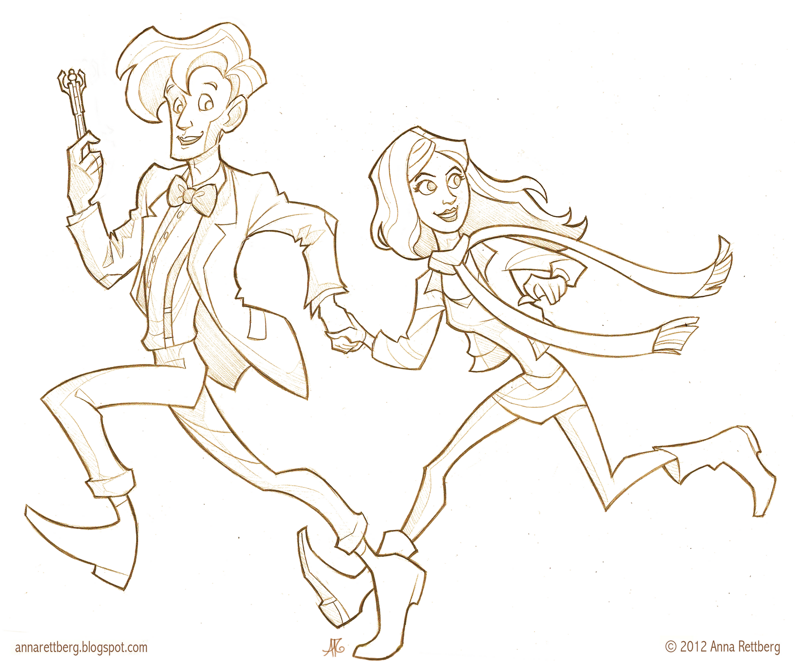 Doctor Who Coloring Pages Pdf : Amy pond coloring page pages for all ages