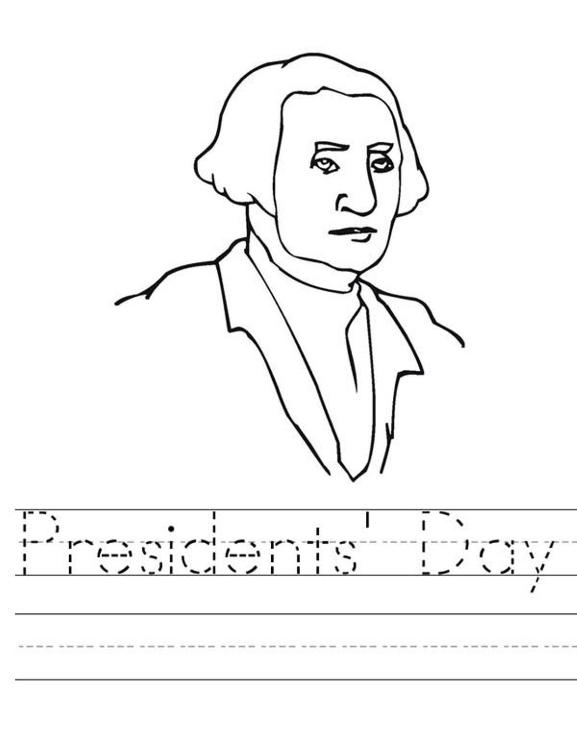 President Day Coloring Pages To Print - Coloring Home