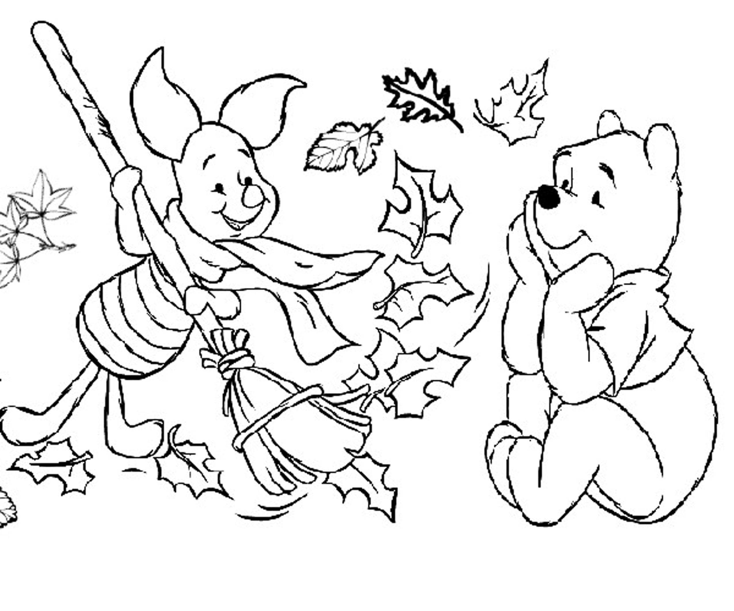 autumn coloring pages for preschool coloring home