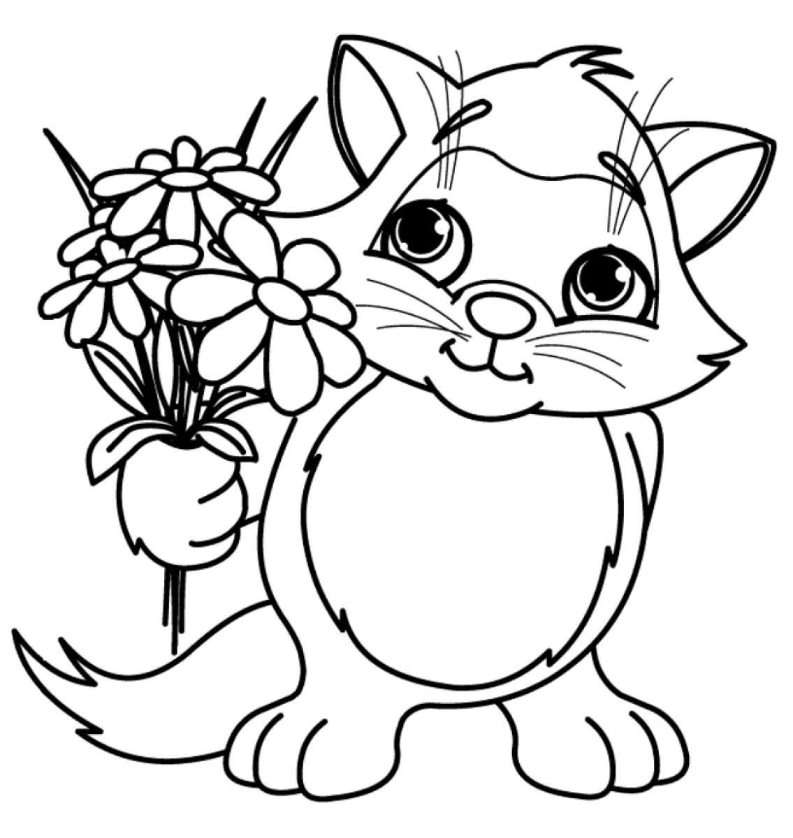 Hydrangea flower coloring pages - Spring Flower Coloring Pages To Download And Print For Free