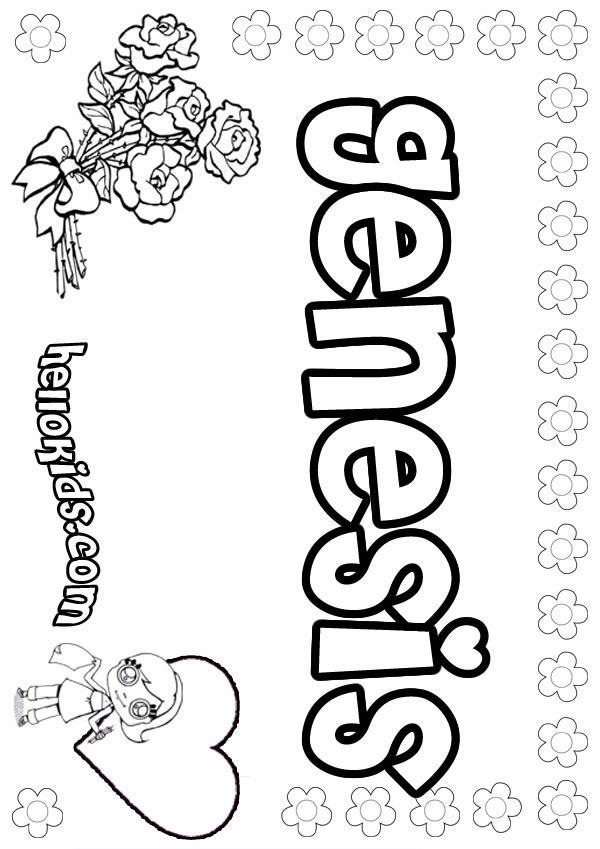 Genesis coloring pages - Hellokids.com