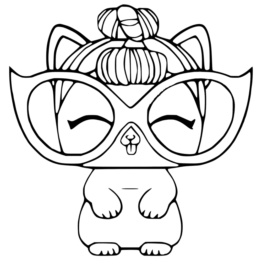 Coloring Book Free Printable Lol Surprise Petsoloring Pages Coloring Home