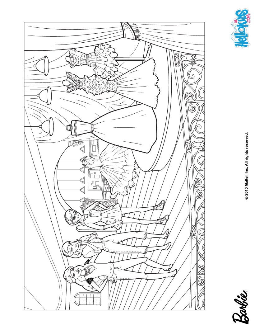 Fashion Coloring Pages Printable