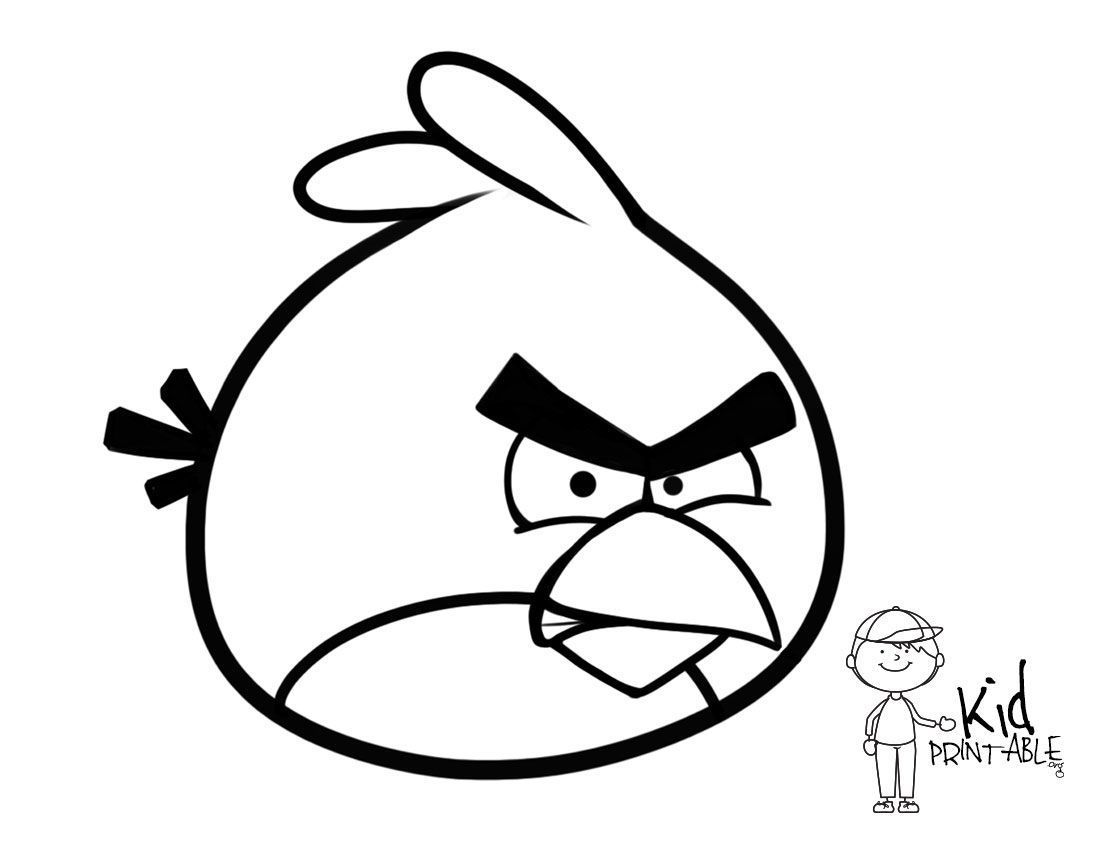 85 Angry Birds Coloring Pages All Birds