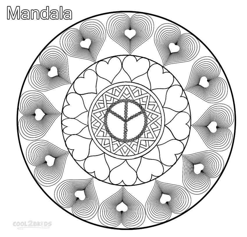 Love mandala coloring pages coloring home for Love mandala coloring pages