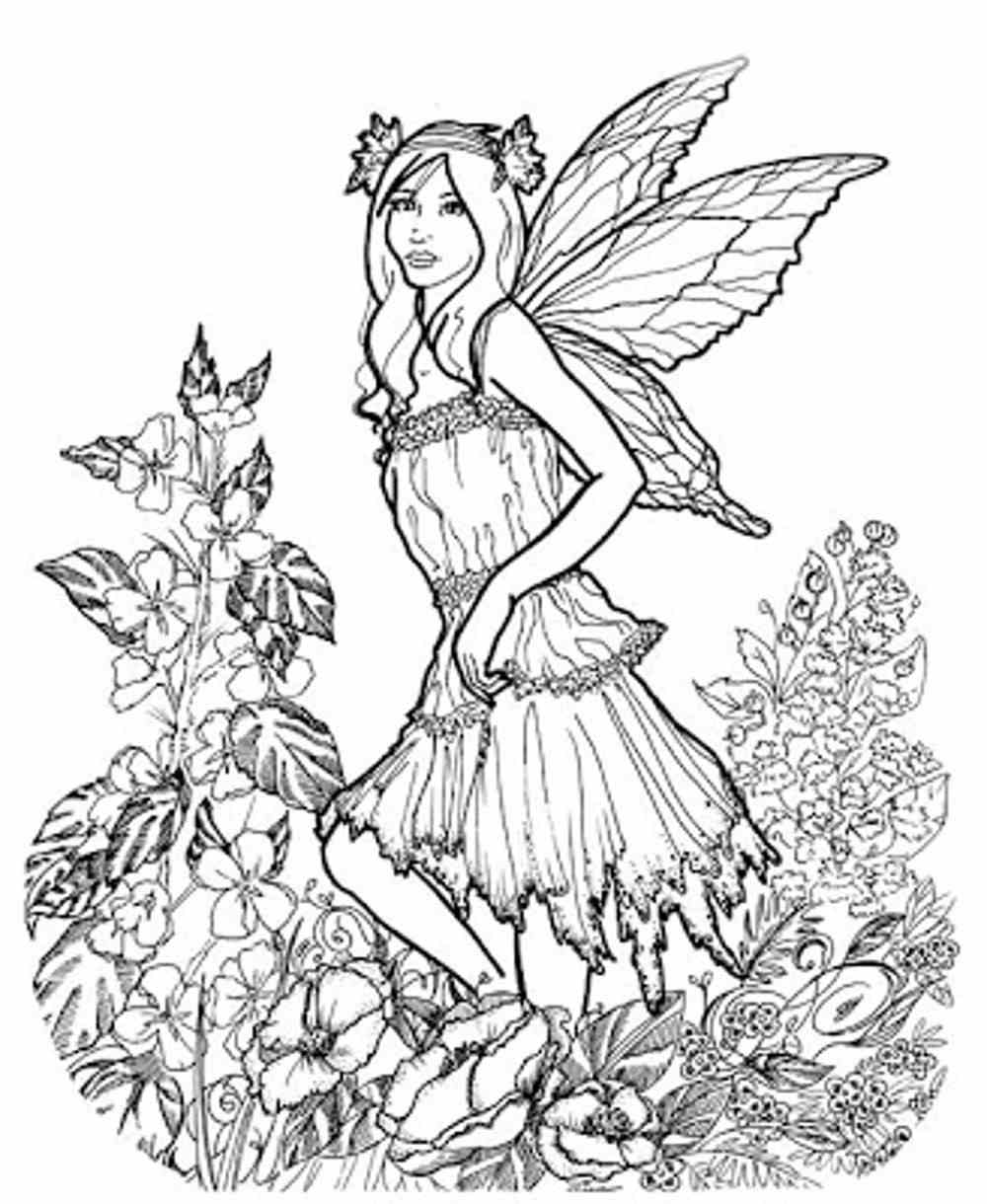 Adult Coloring Pages Free Spring