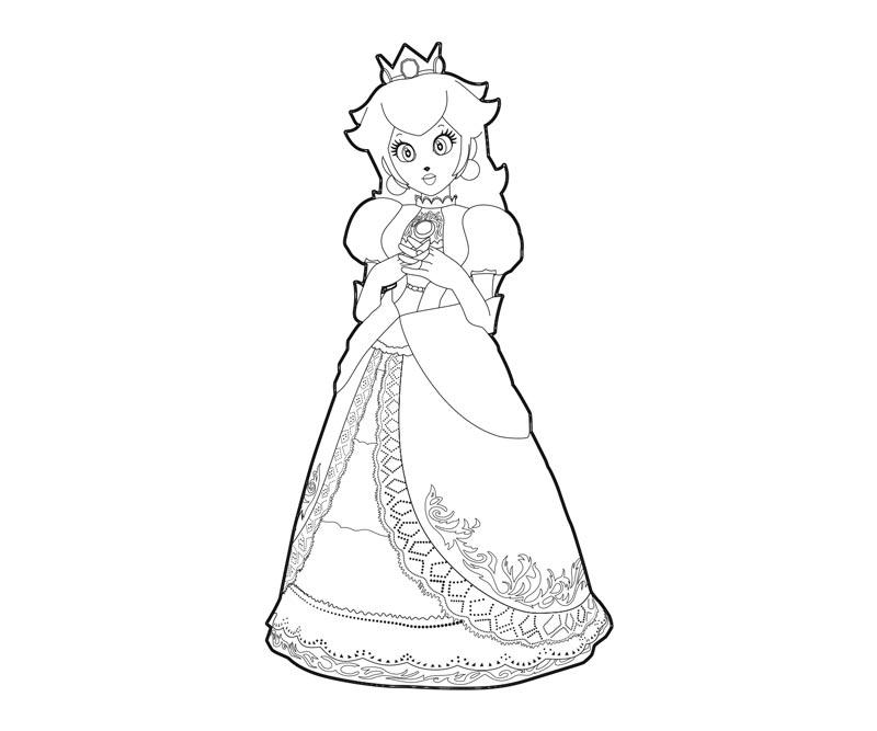 Kleurplaten Van Prinses Peach.Kleurplaten Mario En Peach Mario Bros 24 Gratis Malvorlage In Comic