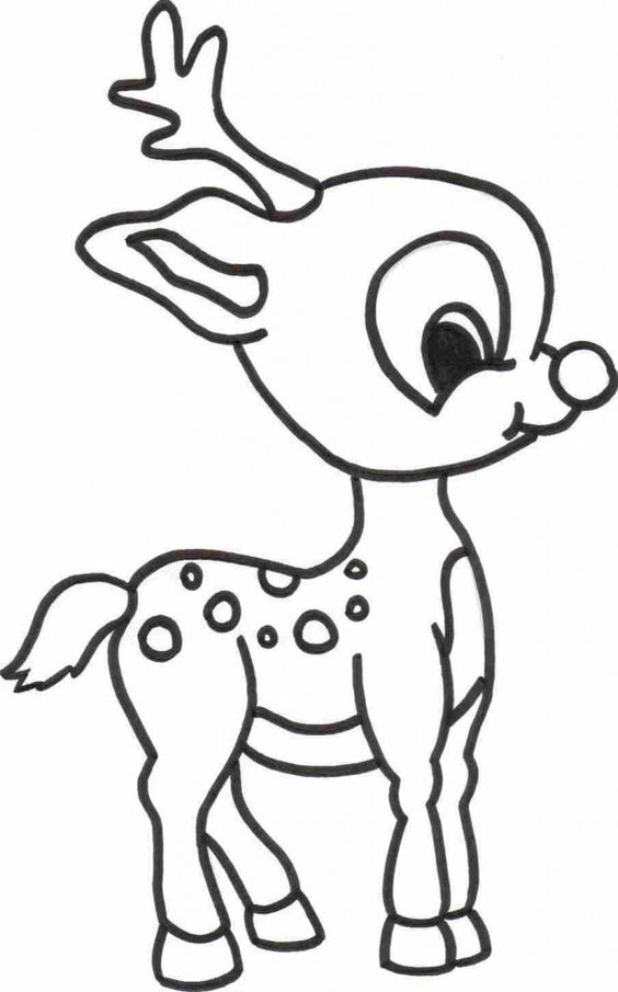 Christmas Coloring Pages Elf On The Shelf And Reindeer ...