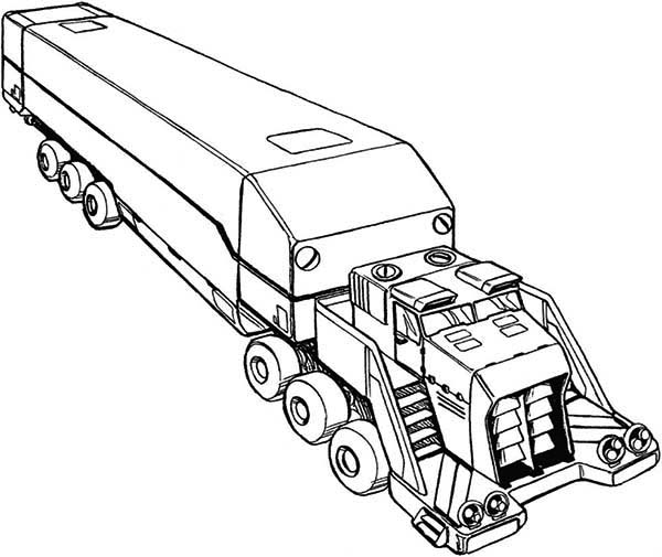 big truck printables coloring pages - photo#15