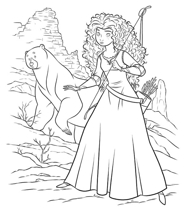 Printable Brave Coloring Pages | ColoringMe.com - Coloring ...