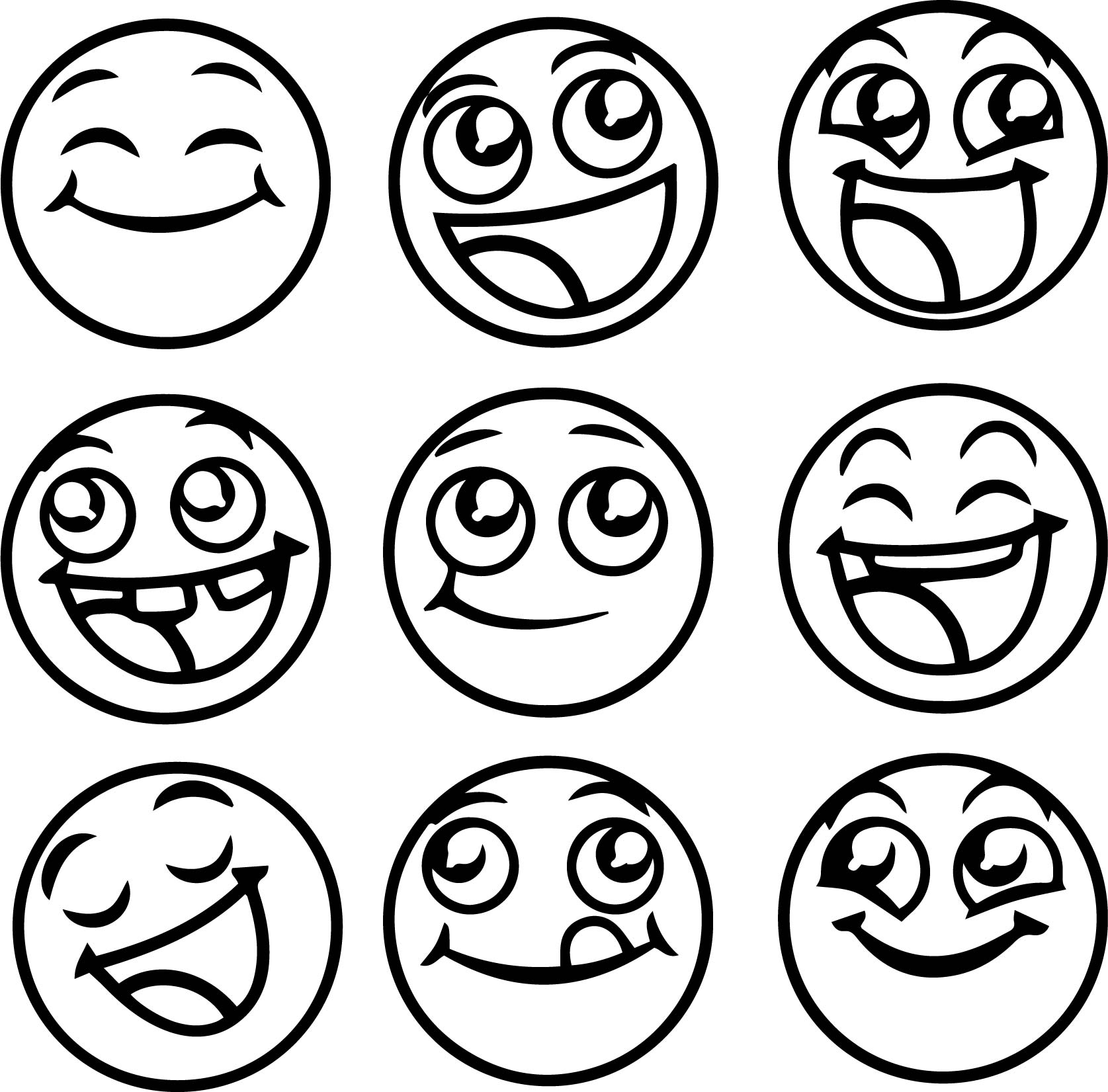 Emojis Coloring Pages Coloring Home