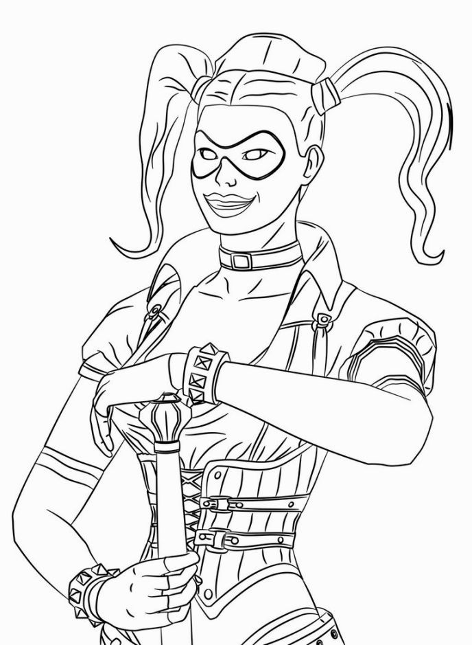 The Best Ideas for Suicide Squad Coloring Sheets for Girls ...