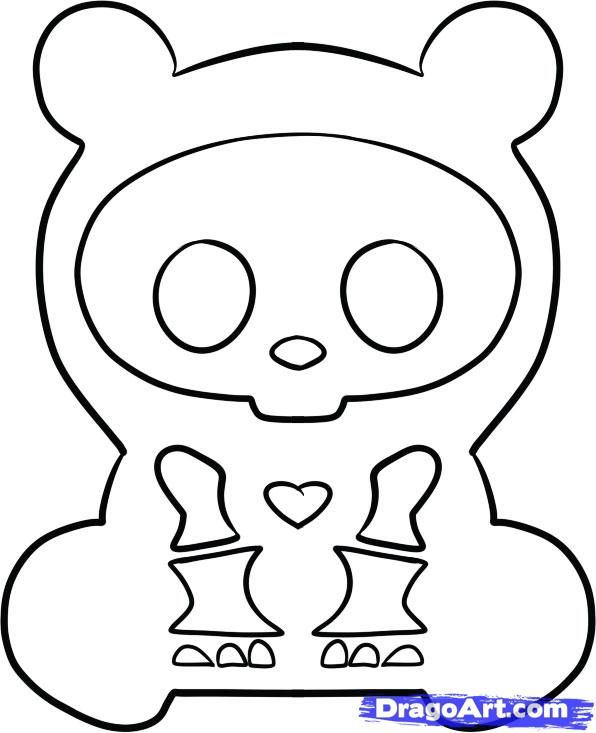 skeleanimals coloring pages - photo#3