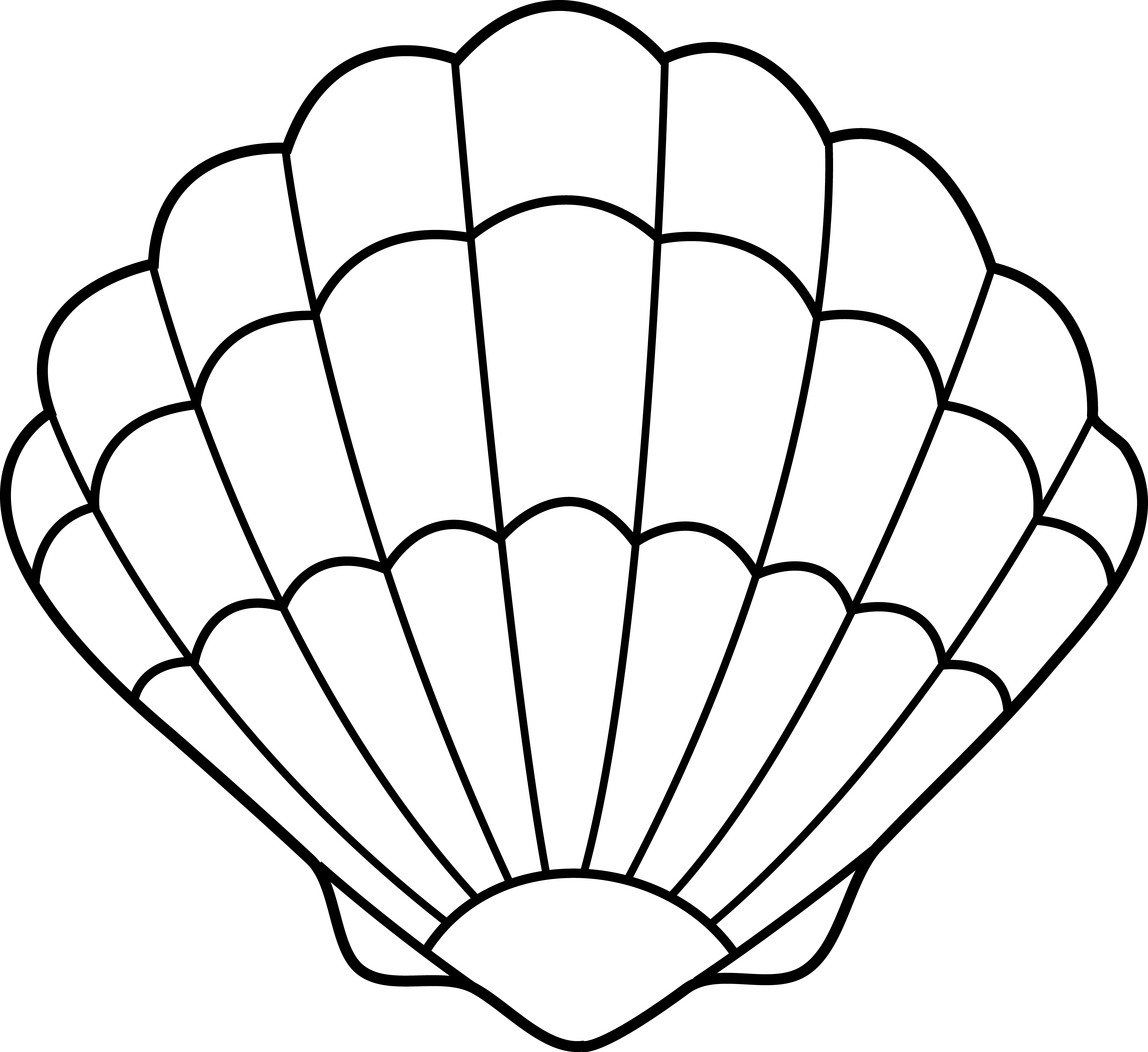 9 Pics Of Seashell Coloring Pages For Preschool Sea Shells Coloring Home