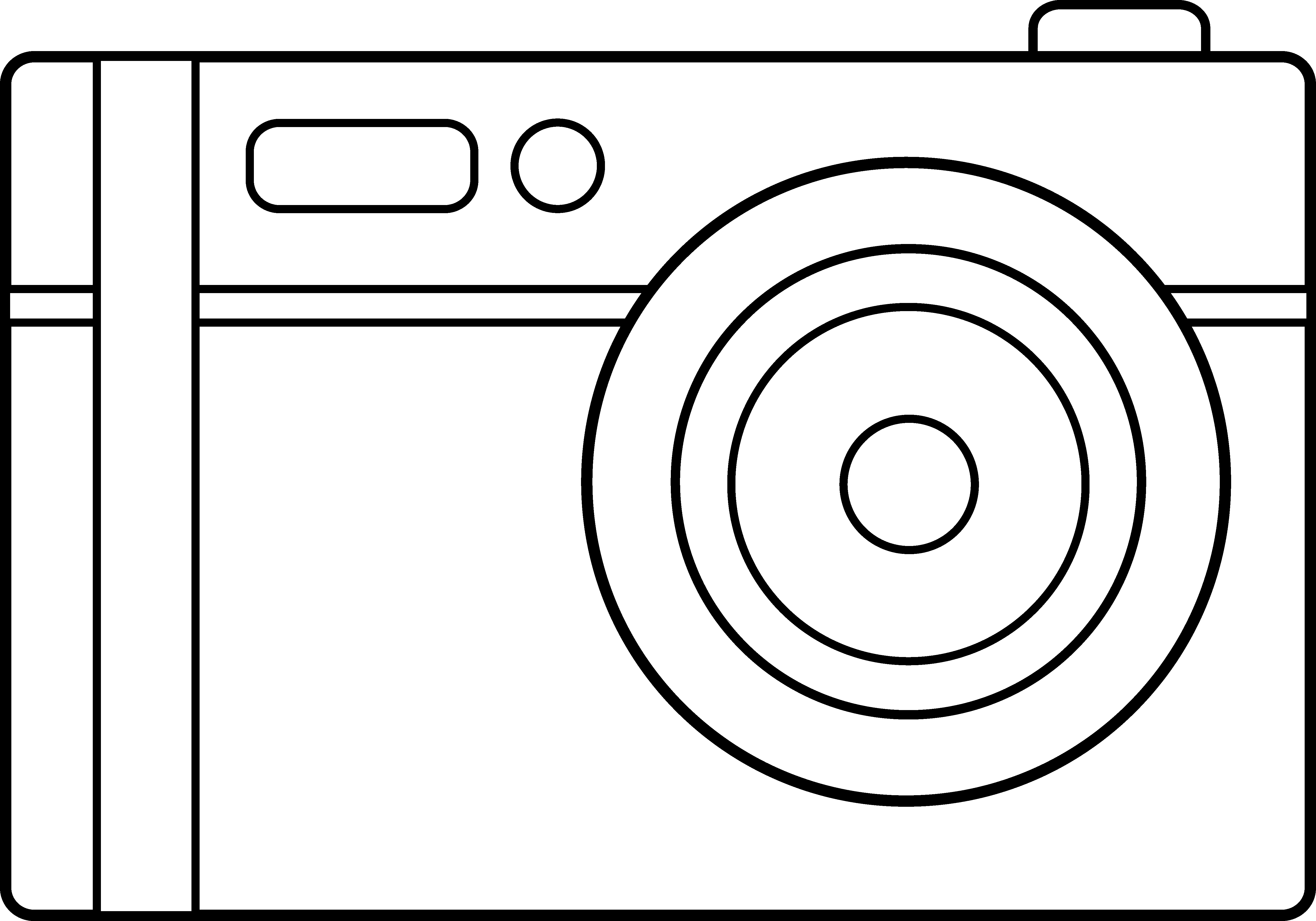 cartoon camera coloring page coloring pages for all ages