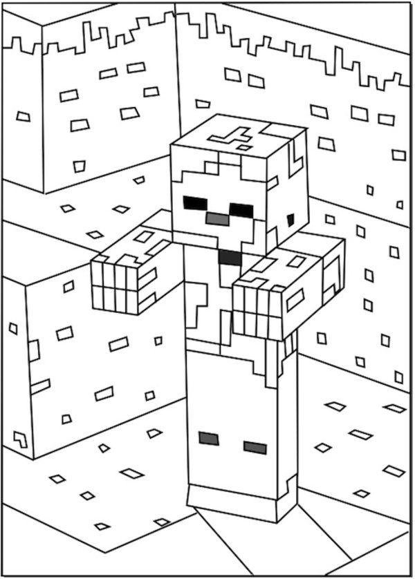 8 Pics Of Minecraft Ocelot Coloring Pages