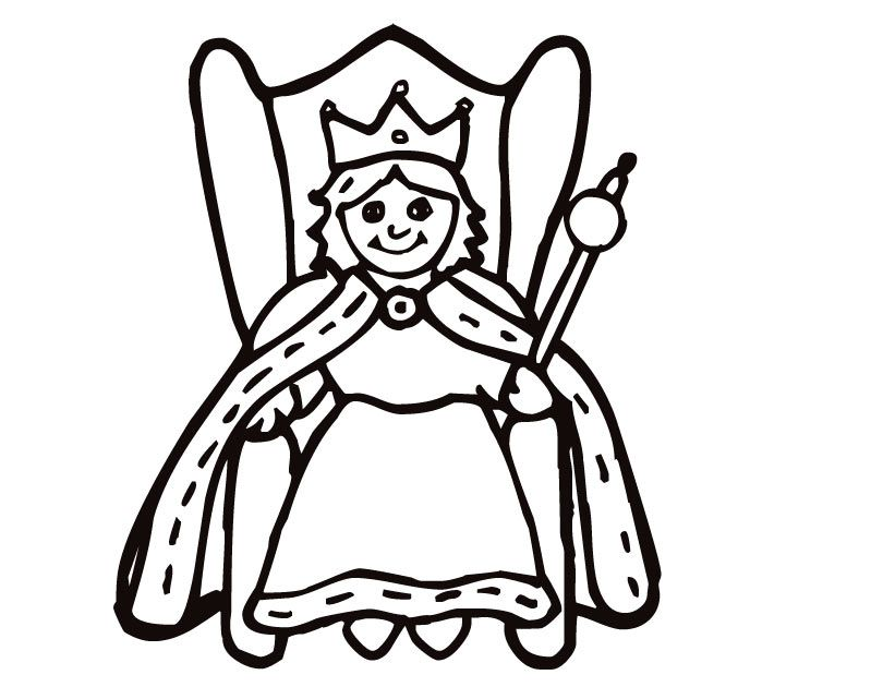 Free Coloring Pages Kings And Queens - Coloring Home