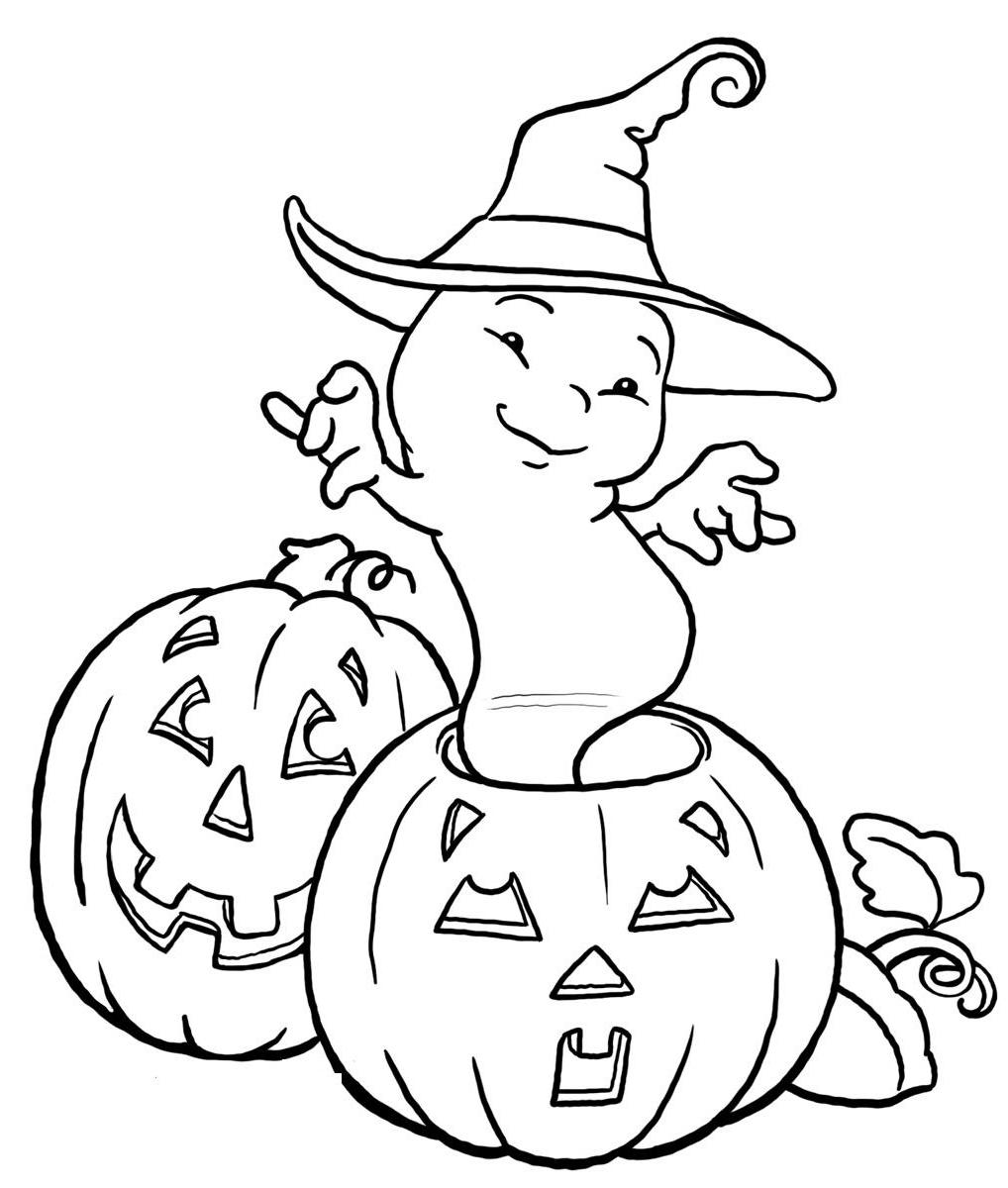 Ghost Kids Coloring Pages - Coloring Home