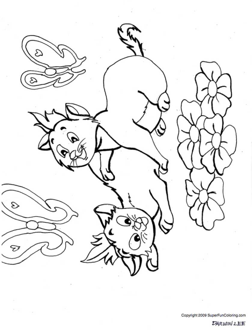 baby puppy and kitten coloring pages az coloring pages
