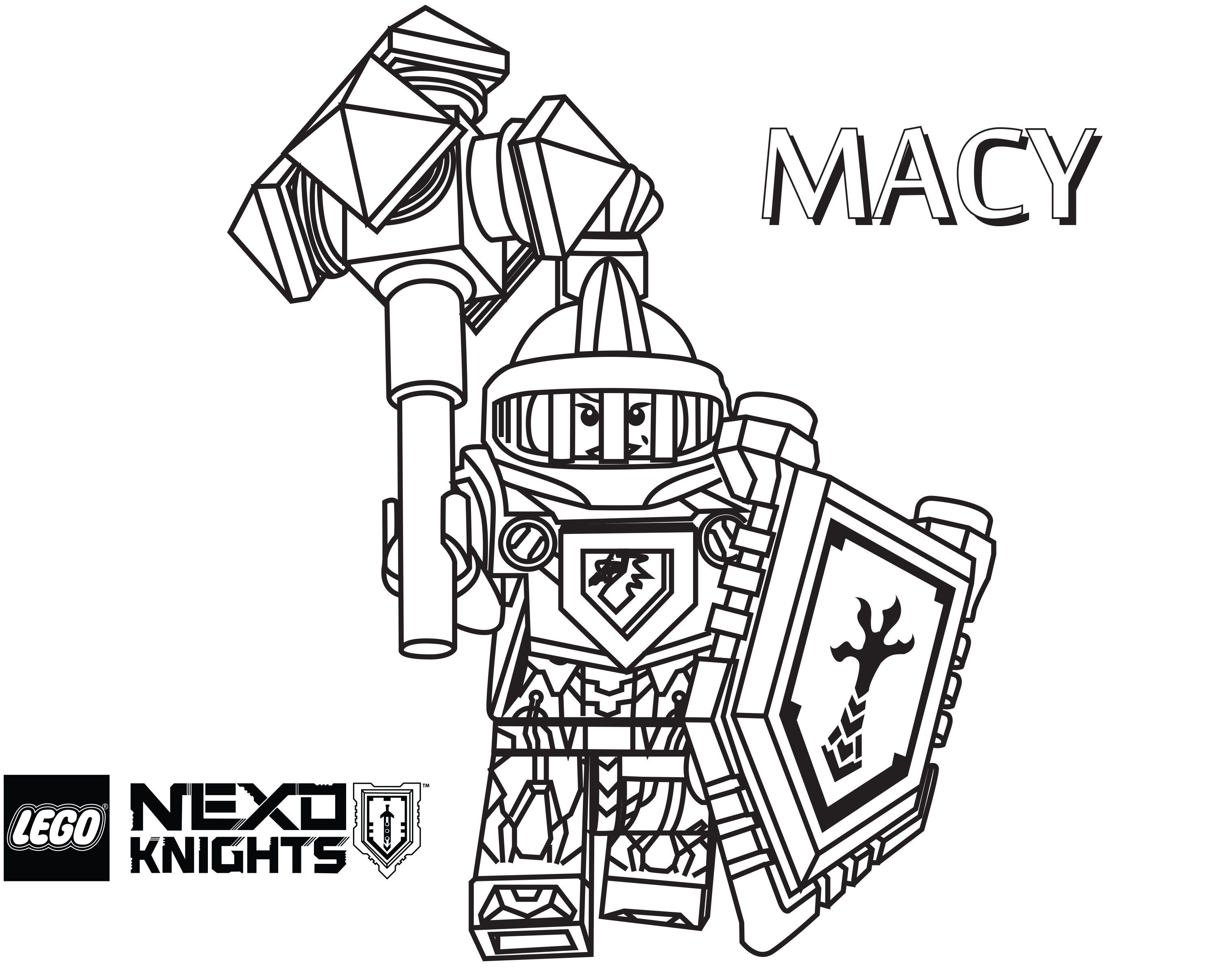 29 new lego nexo knights coloring pages released lego news coloring home. Black Bedroom Furniture Sets. Home Design Ideas