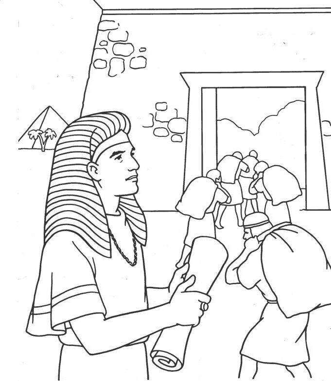 joseph coloring pages bible - photo#25